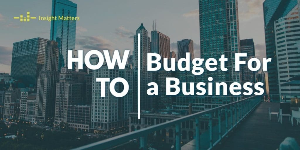 Budget for a Business