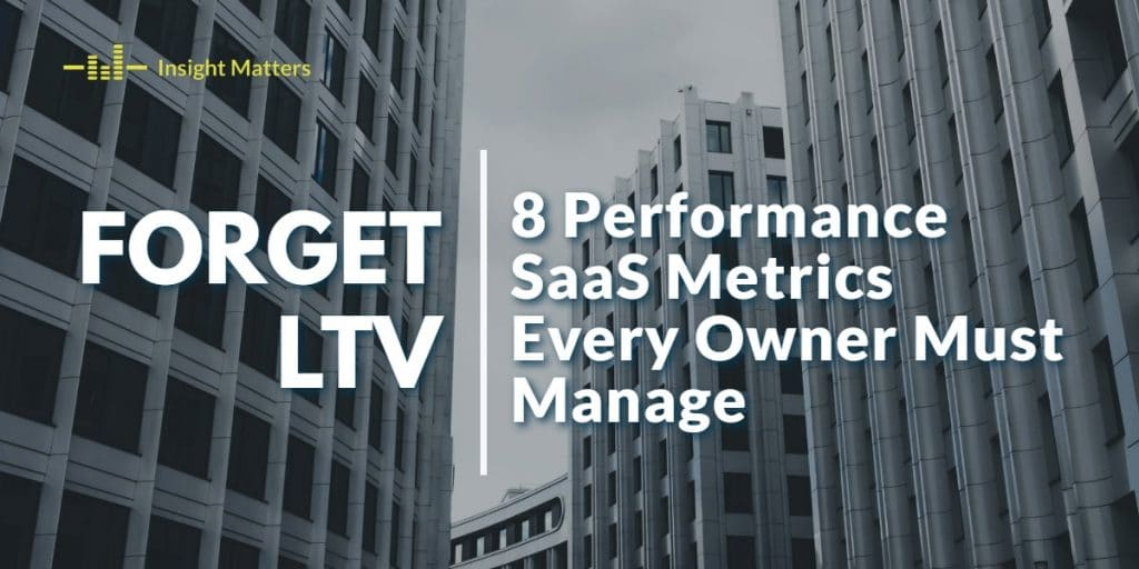 8 Performance SaaS Metrics