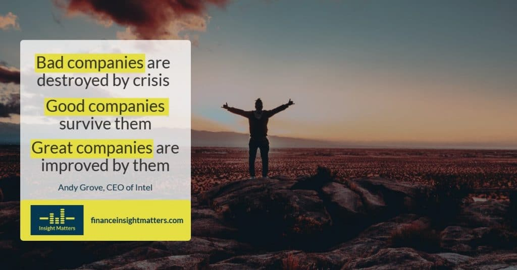 Bad companies, good companies and great companies differentiator