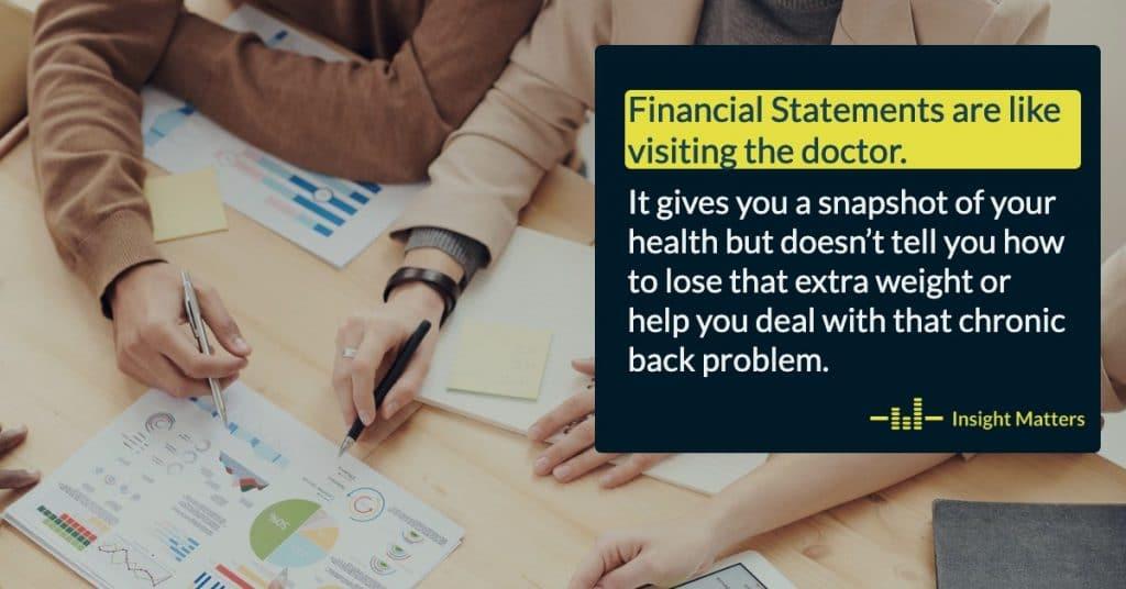 Financial statements snapshot